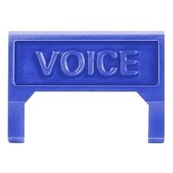 M60 Voice Information Outlet icône insérer, bleu