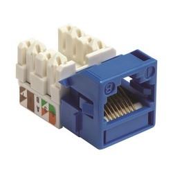 PowerSUM MPS100E catégorie 5e U/UTP Information Outlet, bleu