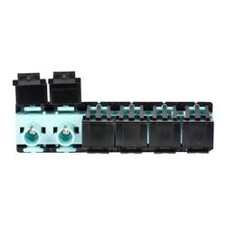 LazrSPEED ST Multiport volets adaptateur, Aqua, paquet en vrac 10