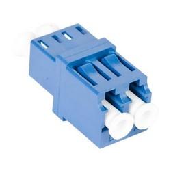 TeraSPEED LC Duplex Adapter, Blue, 100 Bulk Pack