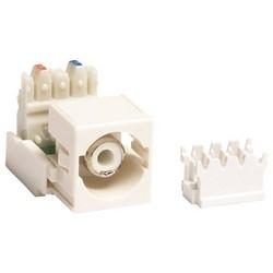 RCA / M81 110 Punchdown Module Audio et vidéo adaptateur, blanc logement connecteur blanc