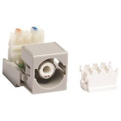 RCA / M81 110 Punchdown Module Audio et vidéo adaptateur, gris connecteur blanc logement