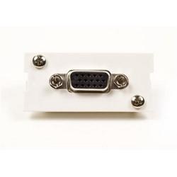 Adapter, VGA, M30FP, 15 Pin, White