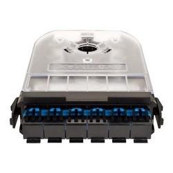 La Cassette modulaire, 360G 2 cartouche, fibre, 6 ST, Teraspeed, carte bleue