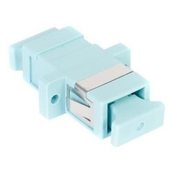 LazrSPEED SC Simplex adaptateur, Aqua, Single Pack