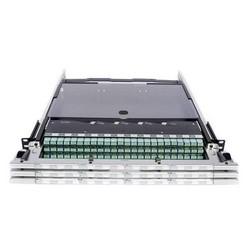 Étagère, fibre, UHD, plateau Ultra haute densité, Modules 3-Instapatch 360, 48 fibre, LC, polarité B