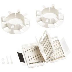 Splice Wallet Kit, 36 Mechanical Splices (1x3x12), 1U/2U Shelf, 2 Fiber Drums