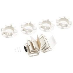 Splice Wallet Kit, 96 Single Fusion Splices (1x6x16), 4U Shelf, 4 Fiber Drums