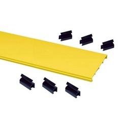 """Il s'agit d'un produit limité; FiberGuide produit ligne System : système de 4 x 4 couverture Type : 4 """"x 4» Snap-Fit couleur : jaune"""
