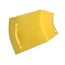 "4"" X 12"" 45 Deg Up Elbow, 2 Junctions, Fiberguide,Yellow"