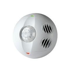 Ceiling Mount Occupancy Sensor, Multi-technology, 180 Degree, 500 Sq. Ft. Coverage, Self-adjusting, White