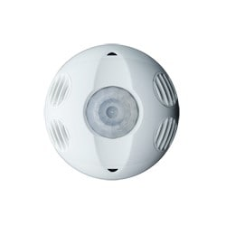 Multi-technology, Commercial Grade 360 Degree, 1000 Square Foot Coverage, Self-adjusting, Ceiling Mount Occupancy Sensor, True White