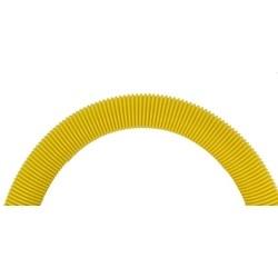 """Round Tubing, 2"""" Diameter, 39"""" Length, Yellow"""
