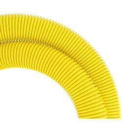"""Round Tubing, 2"""" Diameter, 78"""" Length, Yellow"""