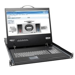 NetCommander 16-Port Cat5 1U Rack-Mount Console KVM Switch, 2+1 Users, 19 in. LCD, IP Remote Access