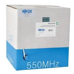 Cat6 Gigabit Bulk Solid-Core PVC Cable, White, 1000 ft., TAA