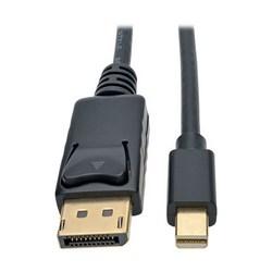 Mini DisplayPort to DisplayPort 4K @ 60 Hz Adapter Cable (M/M), 4096 x 2160 (4K x 2K), Black, 1.83 m