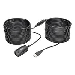 USB 2.0 Hi-Speed Active Extension Repeater Cable (USB-A M/F), 15 m (49 ft.)