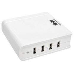 4-Port USB Charging Station, 5V 6A/30W USB Charger Output, UK Version