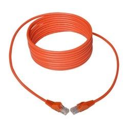 Cat5e 350 MHz Snagless Molded UTP Patch Cable (RJ45 M/M), Orange, 14 ft.