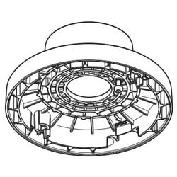 """Network Camera Pendant Kit, 10-Piece, Includes 1.5"""" NPS Thread, 3/4"""" Pipe, For M20/M30/M31 Series Network Camera"""