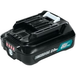 Cordless Power Tool Battery, Lithium-Ion, Slide Style, 12 Volt, 2 Amp-Hr, 70 Minute Charging Time, Compatibility DC10WD/DC10SB