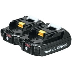 Cordless Power Tool Battery, Lithium-Ion, Slide Style, 18 Volt, 2 Amp-Hr, 25 Minute Charging Time