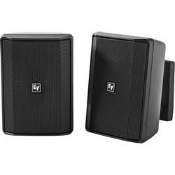 "4"" Speaker Cabinet, Pair, 70/100 Volt, Black"