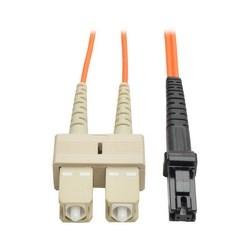 Duplex Multimode 62.5/125 Fiber Patch Cable (MTRJ/SC), 8M (26-ft.)