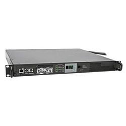 7.4kW Single-Phase 230V ATS/Monitored PDU, IEC309 32A Blue Outlet, 2 IEC309 32A Blue Inputs, 1U Rack-Mount