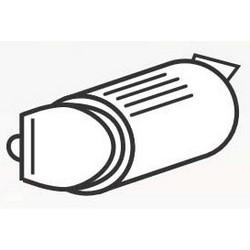"Cylindrical Lockset Deadlatch, Drive-In, 1"" Width, 2-3/8"" Backset, Satin Chromium Plated, For MK Series Cylindrical Lockset"