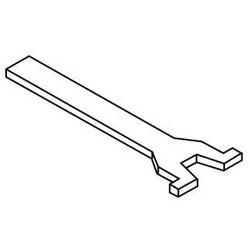 "Rim Cylinder Tailpiece, 3-1/2"" Horizontal"