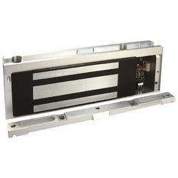 "Electromagnetic Lock, 12/24 Volt DC, 250/125 Milliampere, 10-1/2"" Length x 2"" Depth x 3-5/8"" Height"