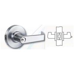 "Cylindrical Lever Lock, Trim, ASA/Square Corner Strike, 2-3/4"" Backset, 1-1/8"" Spring Latch, Dark Oxide Satin Bronze, Oil Rubbed, For Privacy"