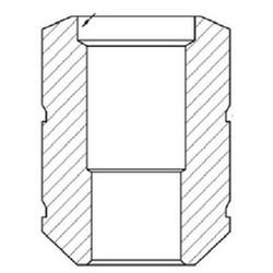 Cylinder Keying Plug Pin, External, #G, Nickel Silver, For Interactive G Keyway