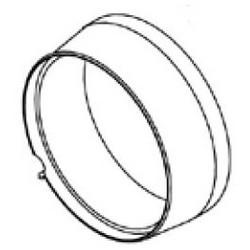 "Cam/Switch Lock Security Ring, 3/4"" Diameter x 0.315"" Length"