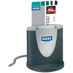 "Smart Card Reader, ID-1 Card, 420 Kbps, 12 Megahertz, 3.15"" Length x 2.64"" Width x 1.1"" Depth, ABS Plastic, For Desktop USB"