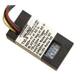 Timer, 12/24 Volt AC/DC, 2 to 36 Second Delay Time, 3 Ampere SPDT Relay, With DIP Switch