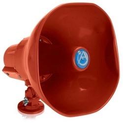Emergency Signaling Horn Loudspeaker with 25V/70.7V-15W Transformer (Red)