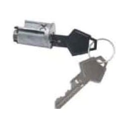 General Motor Ignition Cylinder Lock, Uncoded, 1948 to 1978 Year Model, Chrome Plated, With (2) Key