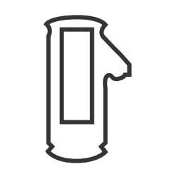 Automotive Door Lock Tumbler, #3, For Honda, Acura, 25 each per Pack