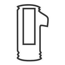 Automotive Door Lock Tumbler, #4, 73VB/V33/V37 Key, For Volkswagen, Audi, Porsche Door and Luggage Lock, 25 each per Pack