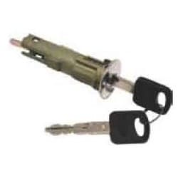 General Motor Trunk Cylinder Lock, Uncoded, 1997 to 1999 Year Model, Chrome Plated, With (2) Key, Ford Crown Victoria and Mercury Grand Marquis