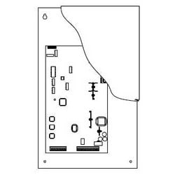 Telephone Intercom System Cabinet, Garden Style, Small