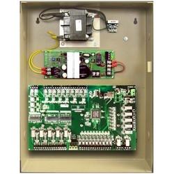 """Door PLC Interlock Controller, 5-Door, Standalone, User Configured, DIN Mount, 110 Volt AC, 12/24 Volt DC, 4 Ampere, 10"""" Length x 6"""" Height"""