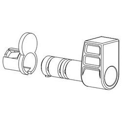 SFIC barillet de porte porte serrure cylindre Construction, jetable, pour 6/7 broches