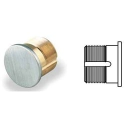 "Mortise Dummy Cylinder, 1.36"" Diameter, 1-1/8"" Length, Non-Hollow Solid Brass, Oil Rubbed Bronze"