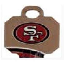 Decorative Key Blank, NFL Team Key, Schlage, 49ERS Logo, Individually Carded, SC1 Keyway, 48 Price Group
