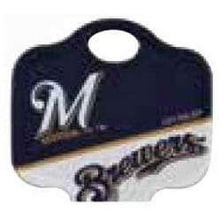 Decorative Key Blank, MLB Team Key, Kwikset/Titan, Brewers Logo, KW1 Keyway, 46 Price Group