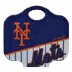 Decorative Key Blank, MLB Team Key, Kwikset/Titan, Mets Logo, KW1 Keyway, 46 Price Group